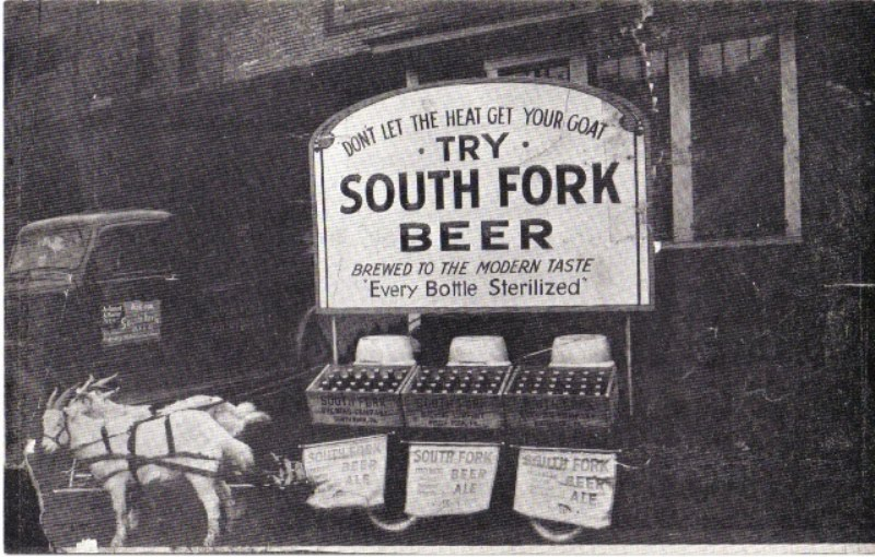 South Fork Brewery Beer Cart