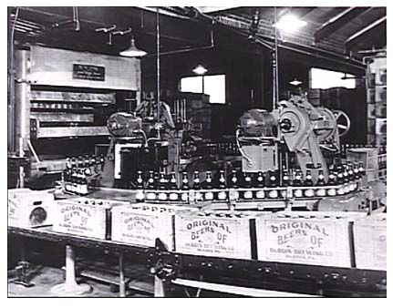 Dubois Brewery Beer Bottling Line