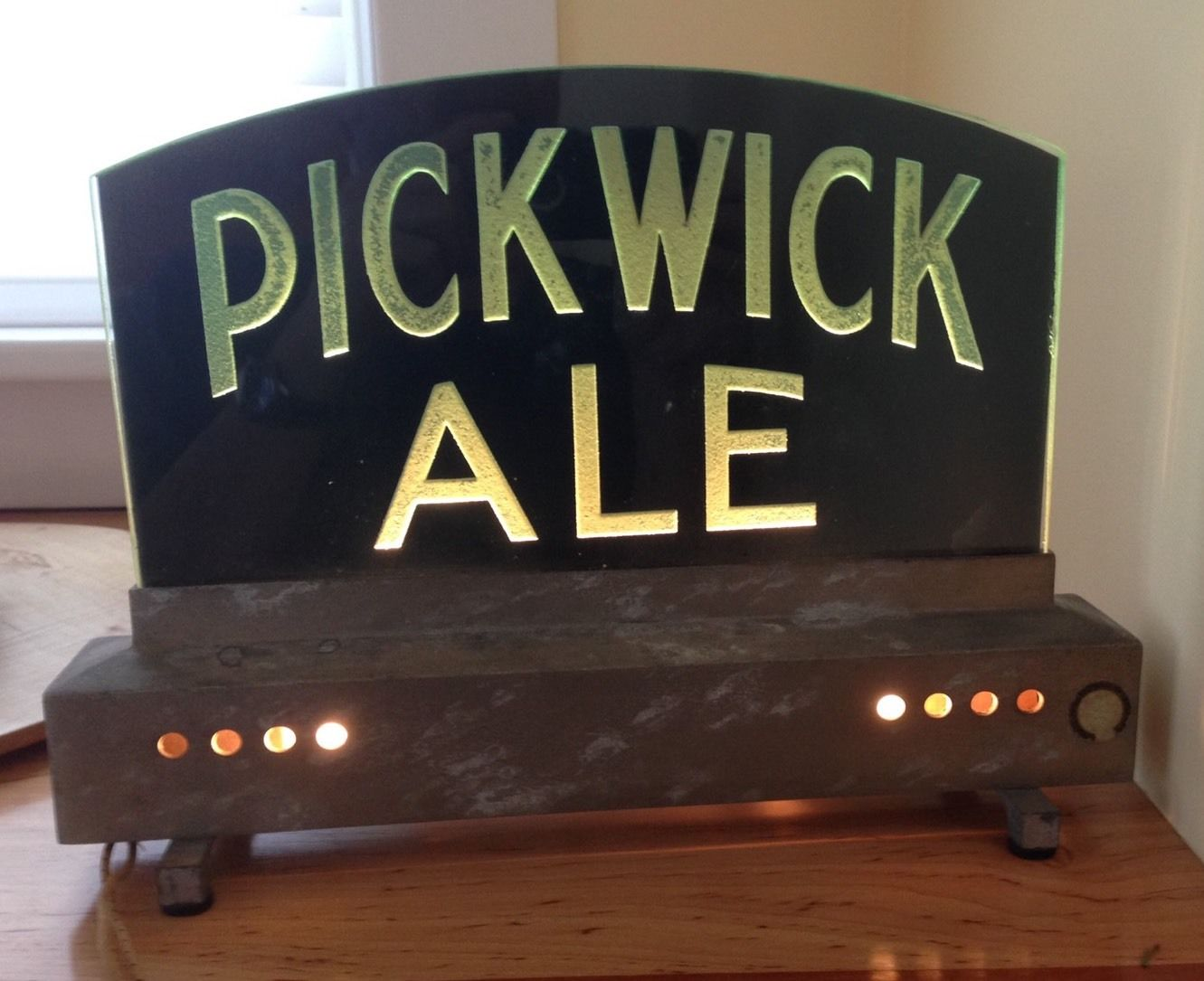 Pickwick Ale Lighted Sign