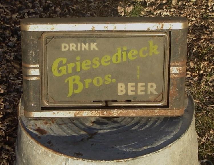 Griesedieck Bros. Beer Neon Products Inc.