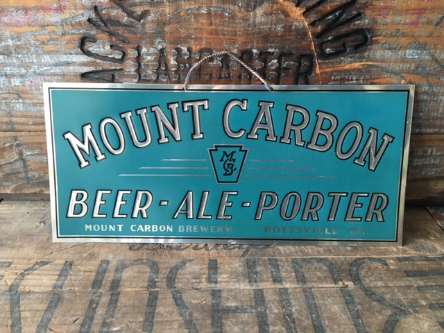 Mount Carbon Beer Ale Porter Sign
