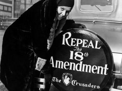 Repeal the 18th Amendment Sign