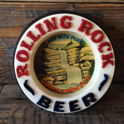 Rolling Rock Beer Light