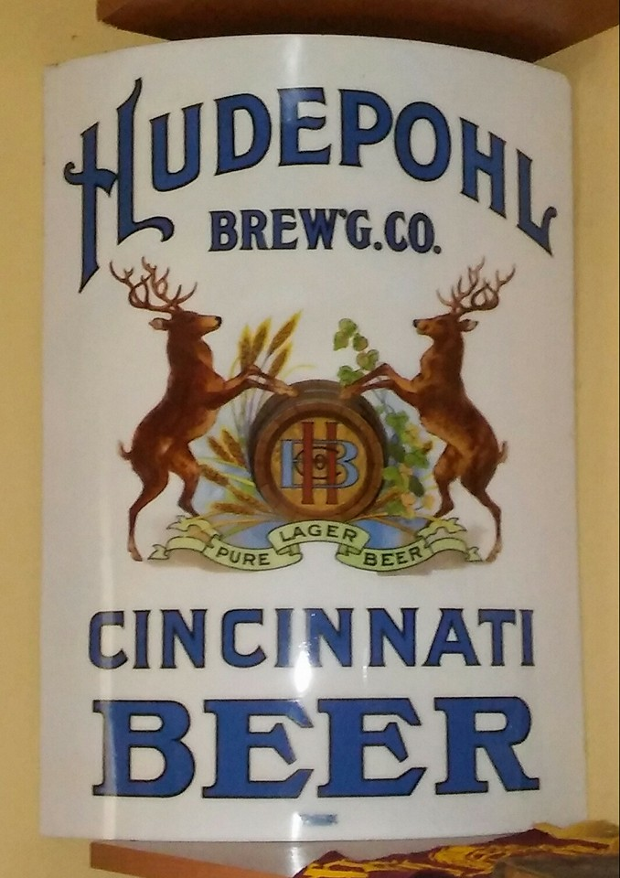 Hudepohl Brewery Virtolite Sign
