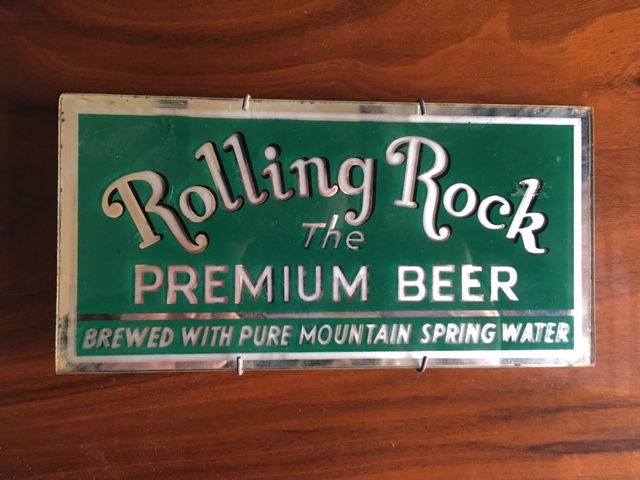 Rolling Rock Beer ROG Sign