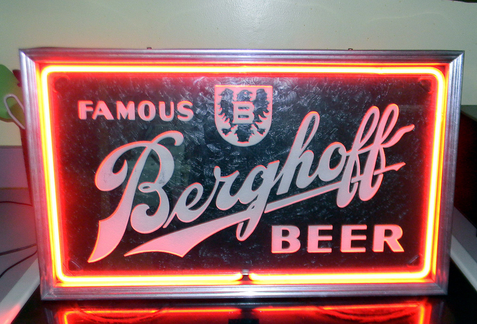 Famous Berghoff Beer Neon Sign