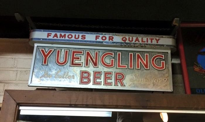 Famous For Quality Yuengling Beer Gillco Lighted Sign