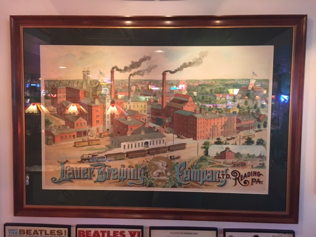 Lauer Brewing Company Litho