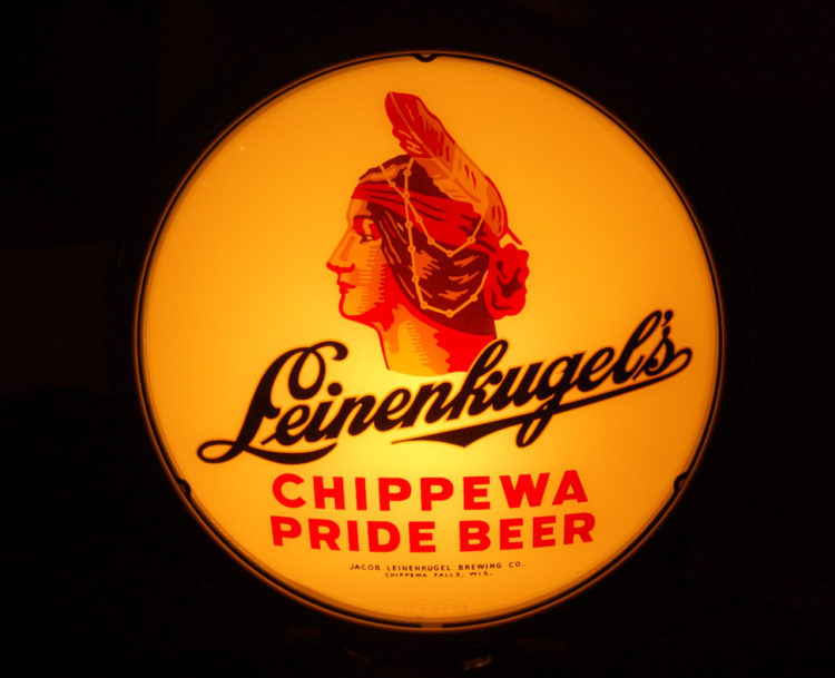 Leinenkugel Beer Gillco Saucer Lens Sign