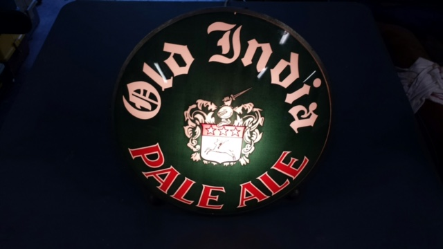 Old India Pale Ale Gillco Lens Sign