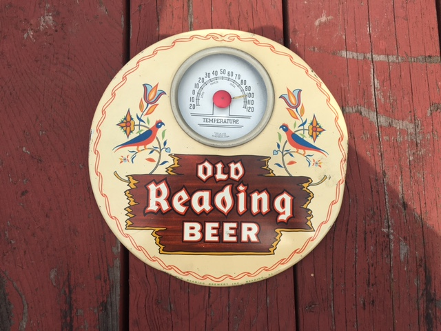 Old Reading Beer Thermometer