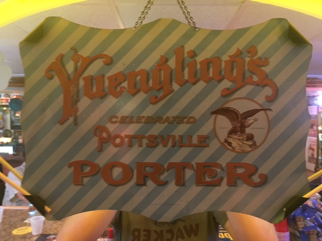 Yuengling's Celebrated Pottsville Porter Tin Sign