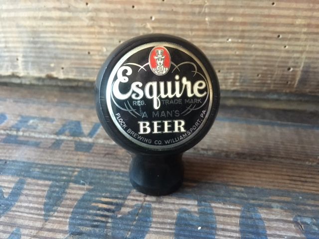 Esquire Beer Ball Tap Knob flock brewery Fisher Products Inc