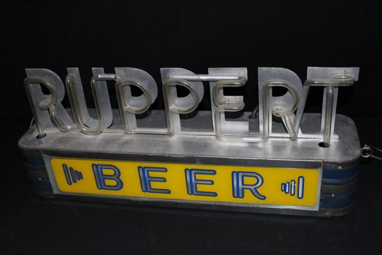 Ruppert Beer Neon Sign
