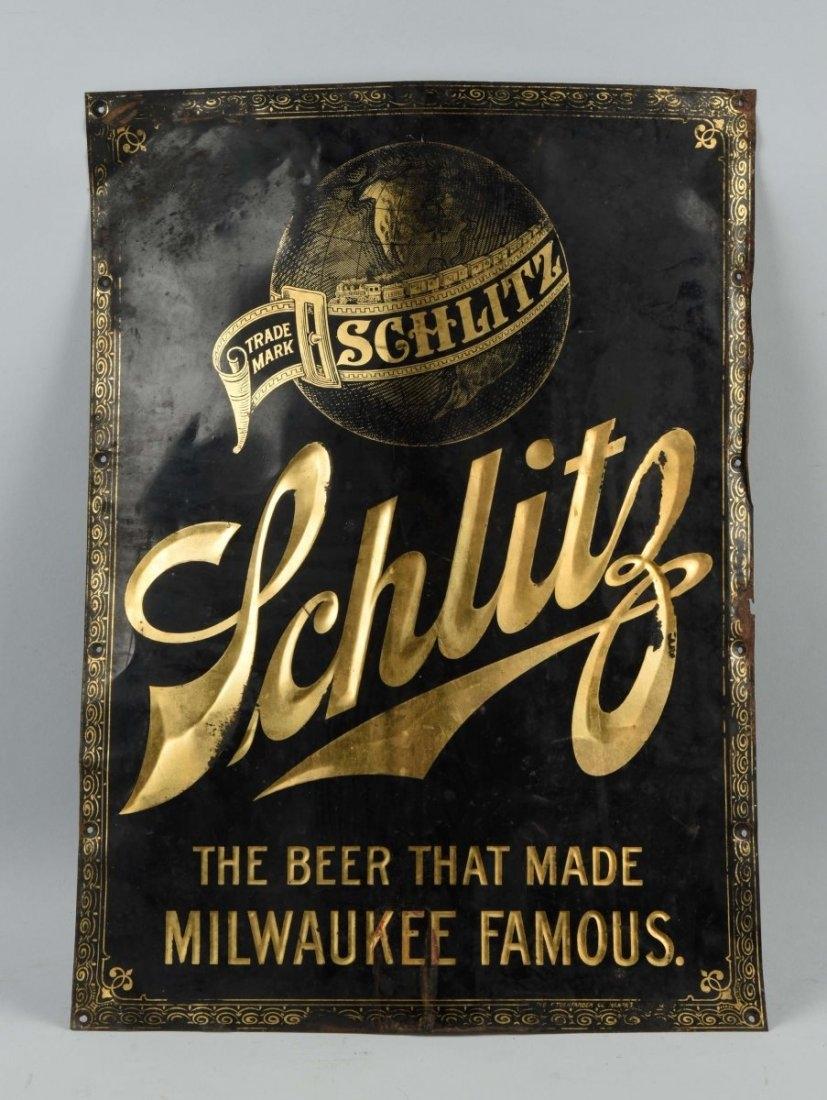 Schlitz Beer Tuchfarber Sign