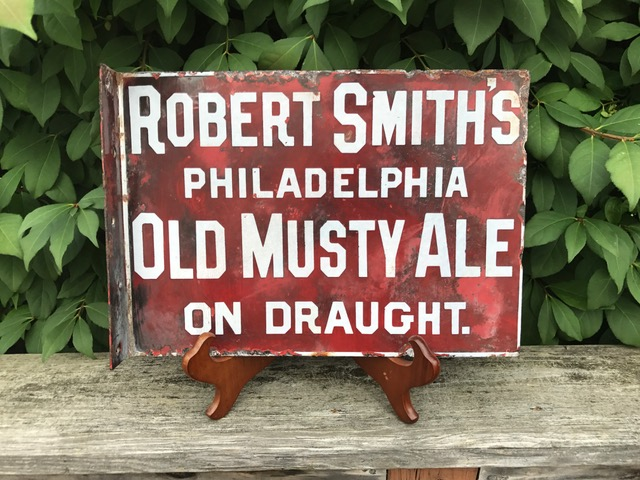 Old Musty Ale Flange Sign