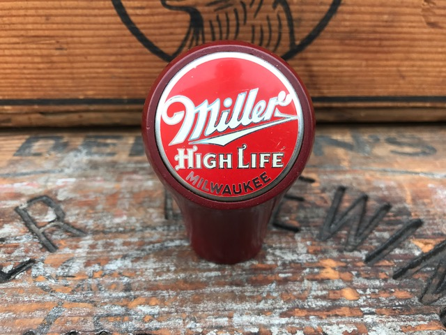 miller hight life beer ball tap knob fisher products inc true name