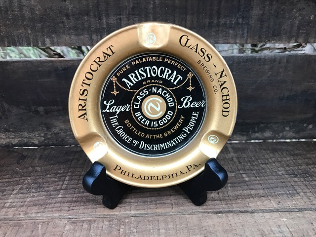 class nachod brewery philadelphia Aristocrat Lager Beer Ashtray