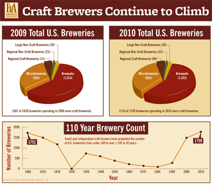 Craft Brewers in the USA