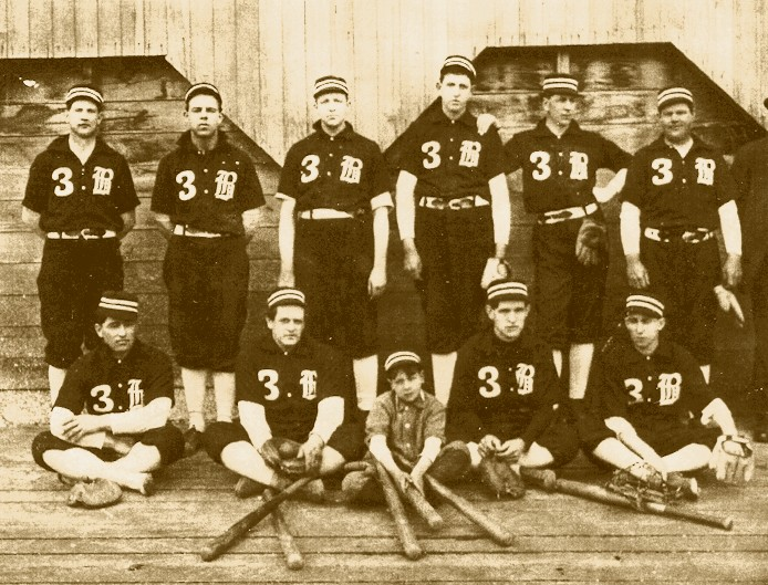 A Bellingham, WA, brewery baseball team, predating the Yankees by ten years