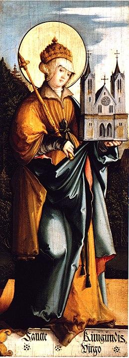 Święta Kunegunda, zakonnica
