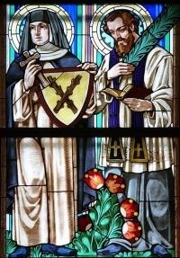 Święta Zdzisława i święty Jan Sarkander