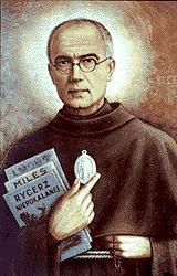 Święty Maksymilian Maria Kolbe i Rycerz Niepokalanej