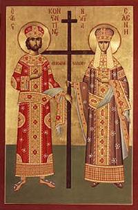 Święta Helena i jej syn, cesarz Konstantyn