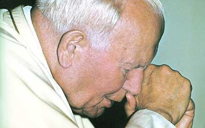 Jan Paweł II w ostatnim okresie swego życia