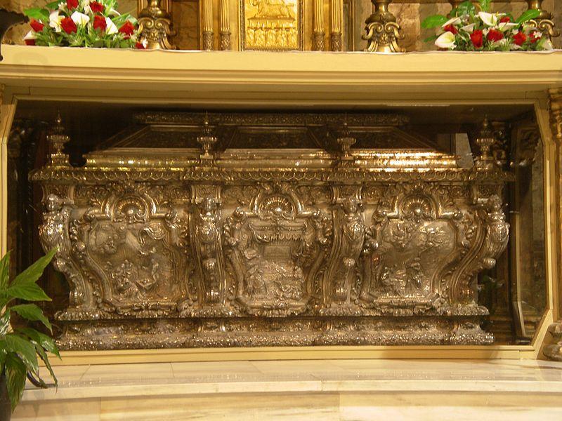 Grób św. Bernarda w katedrze w Vich