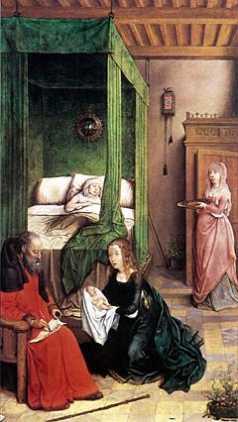 Elżbieta i Zachariasz nadają imię synowi