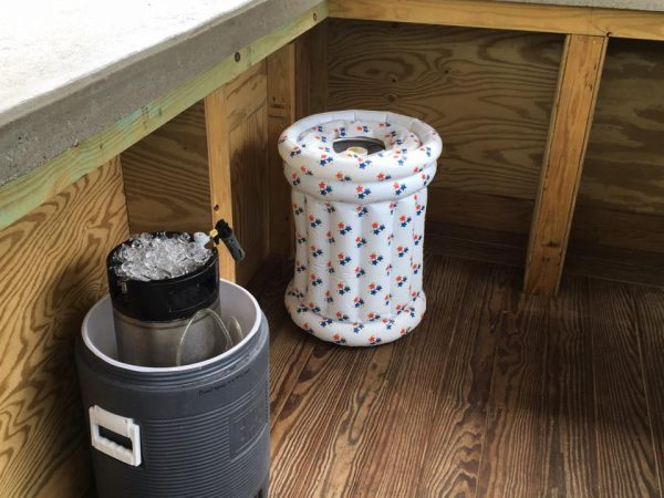 homebrew keg