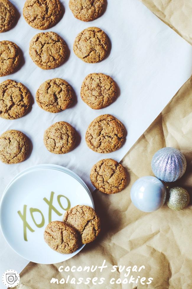 healthy cookies for santa!