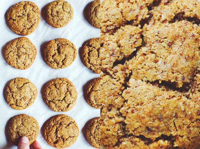 #vegan #glutenfree and refined sugar free coconut sugar molasses cookies!