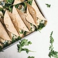 Mexican Chicken Salad Wraps