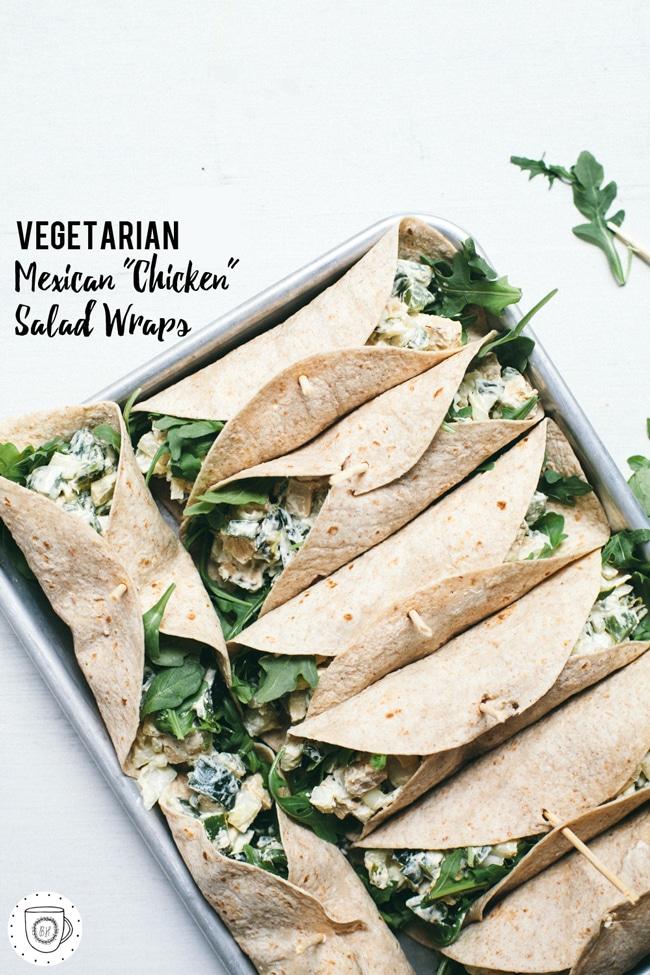 vegetarian chicken salad