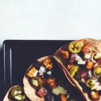 BBQ Potato & Tempeh Tacos