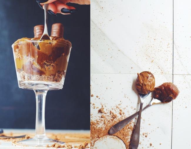 dig into a pudding parfait that tastes like Twix