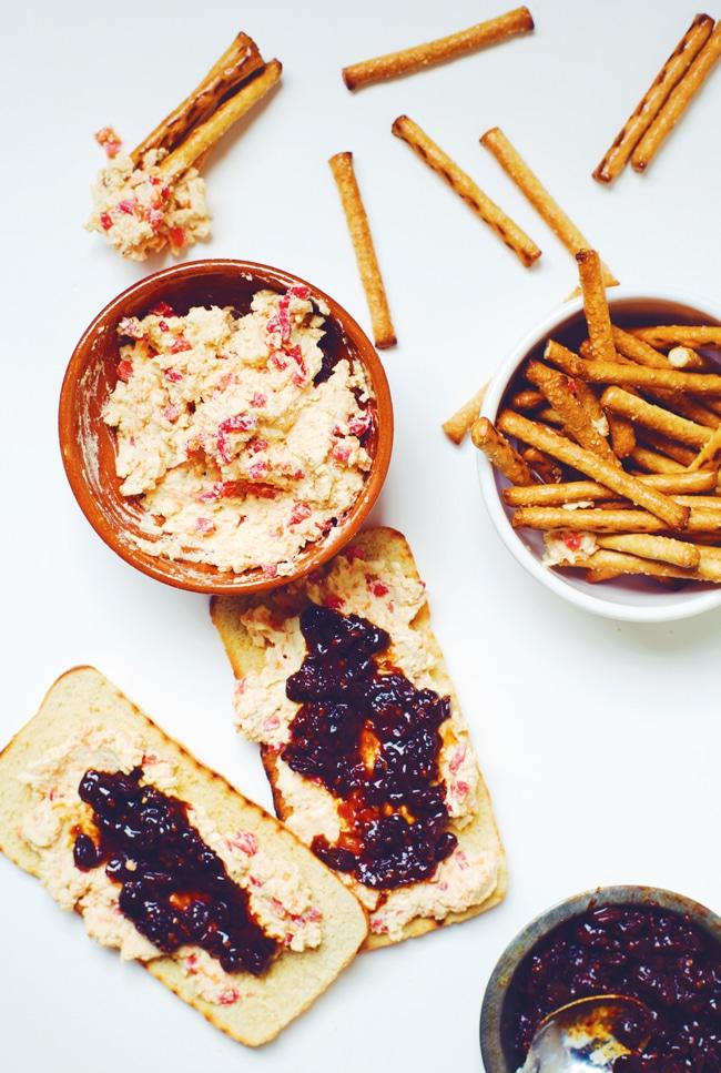 Healthy Pimento Cheese Spread