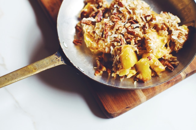 health-ified pineapple casserole