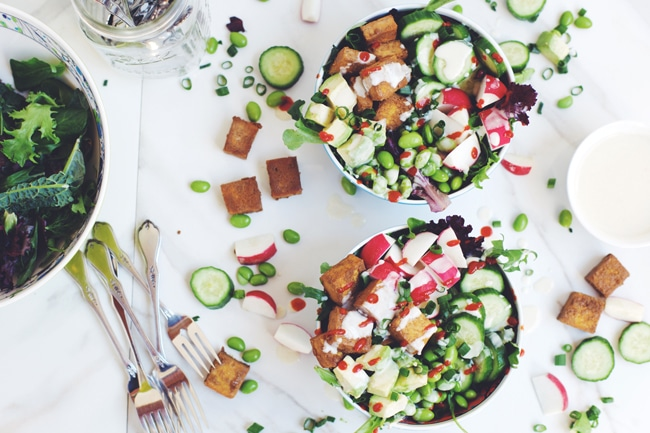 delicious sushi style salad