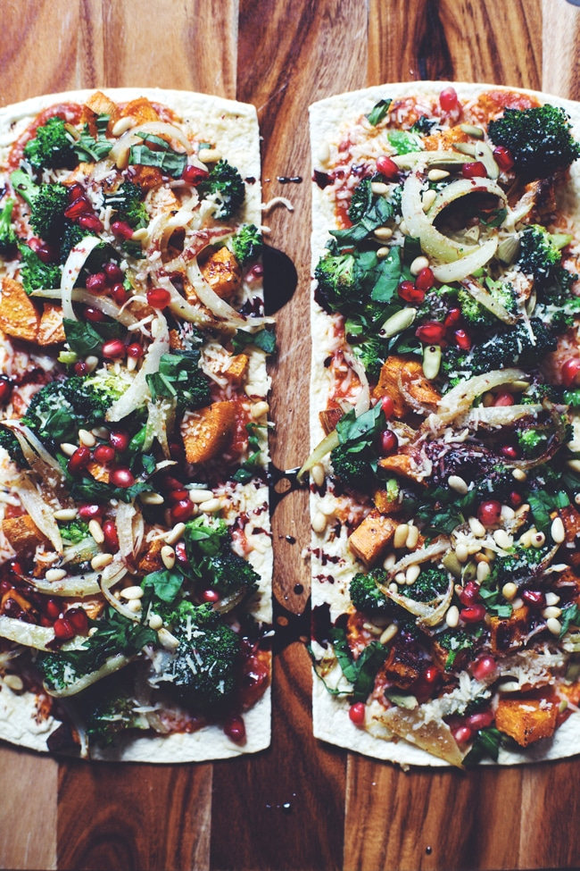 easy winter pizza made with what's already in your fridge!