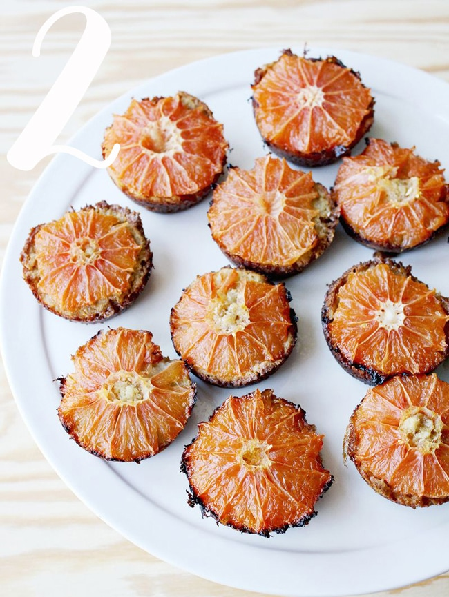 A Beautiful Mess Grapefruit and Brown Sugar Muffins