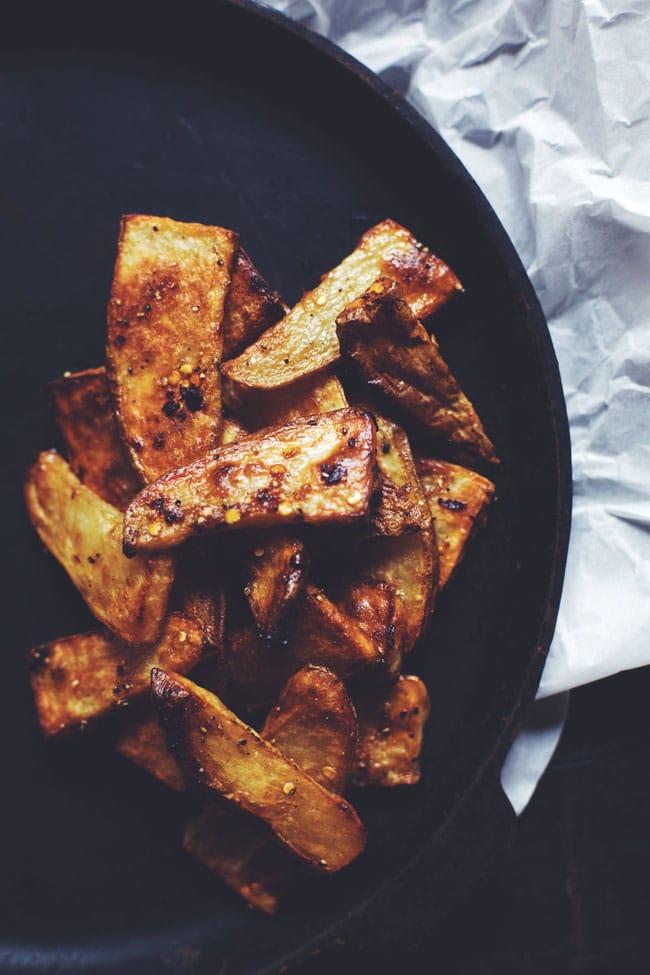 spicy. sweet. sesame fries.