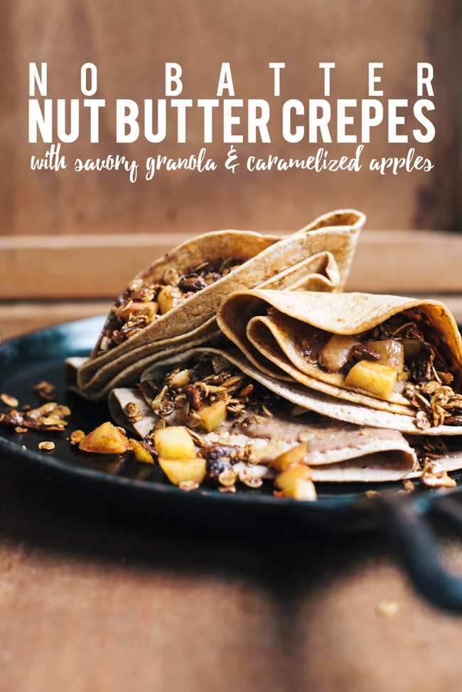 delicious and healthy crepes!