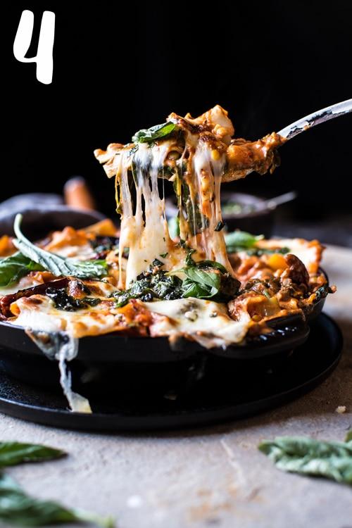 Simple-Vegetarian-Skillet-Lasagna-1