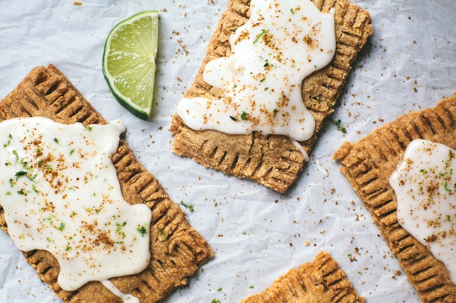 key lime pop tarts