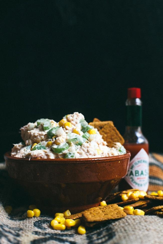 5 Minute Spicy Cajun Tuna Salad