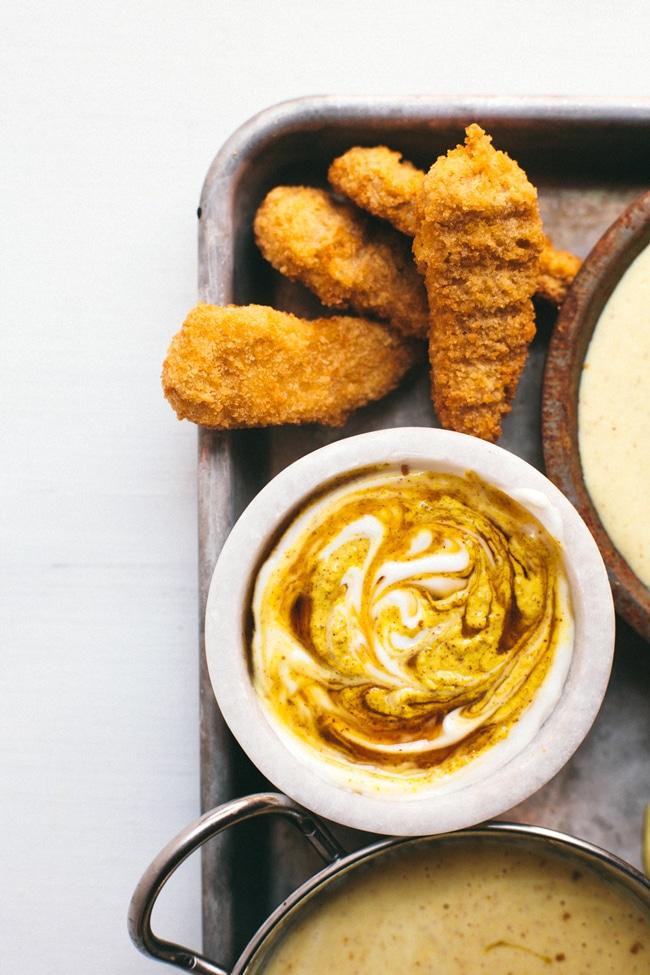 healthy honey mustard