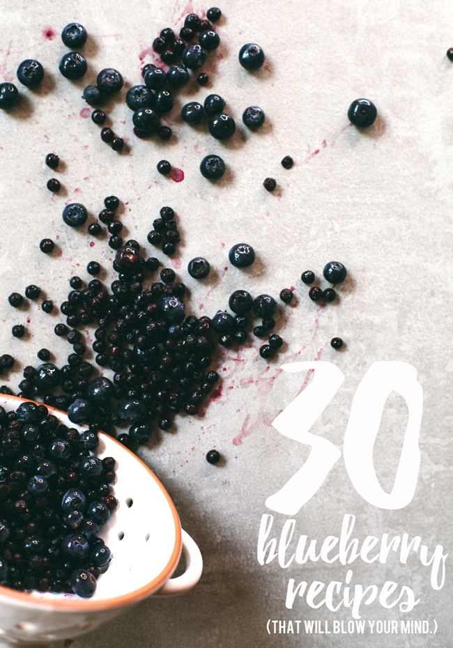 30 blueberry recipes that will blow your mind